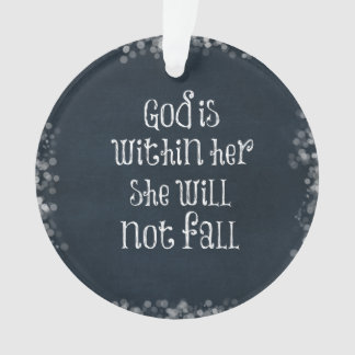 God is Within Her, She Will Not Fall Bible Verse
