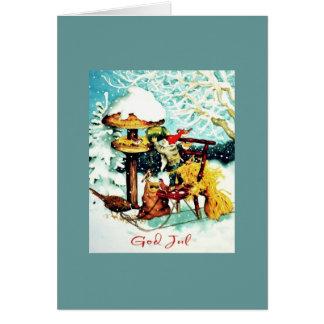 God Jul Scandinavian Christmas Cards, Invitations, Photocards & More