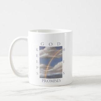 God Keeps His Promises Rainbow  Mug