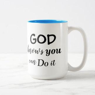 God knows Mug - Redeemed by Love