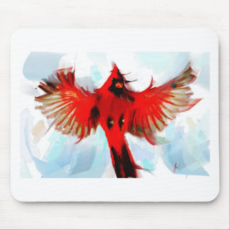 God loved the birds mouse pad