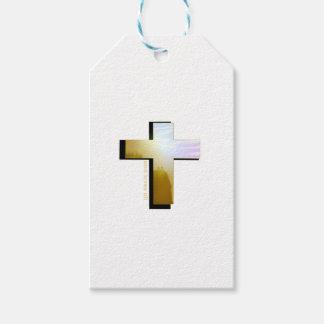 God Loves all Cross Gift Tags