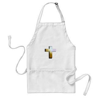 God Loves all Cross Standard Apron