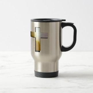 God Loves all Cross Travel Mug