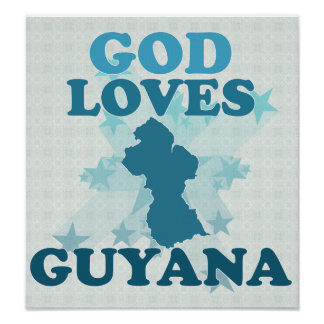 God Loves Guyana Poster