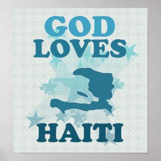 God Loves Haiti Poster