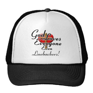 God Loves Linebackers! Trucker Hat