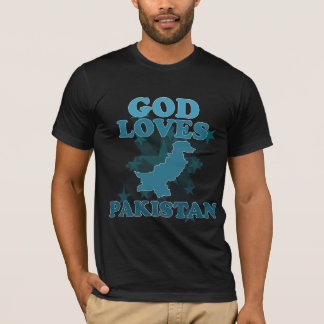 God Loves Pakistan T-Shirt