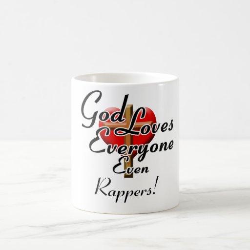 God Loves Rappers! Mugs