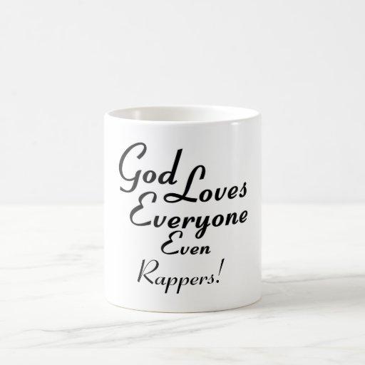 God Loves Rappers! Mug