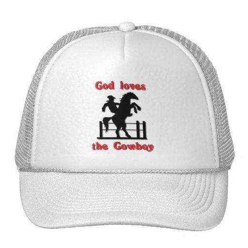 God loves the Cowboy Mesh Hats
