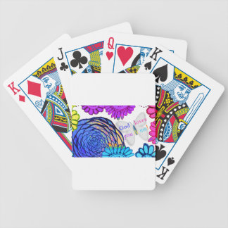 God loves you and me! bicycle playing cards
