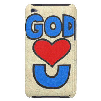 God Loves You Barely There iPod Covers