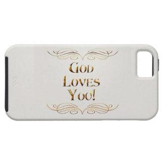 God Loves You! Tough iPhone 5 Case