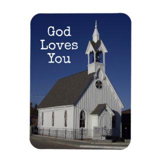 God Loves You Magnet