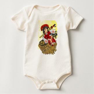 God lowering! Miyako way English story Omiya Baby Bodysuit