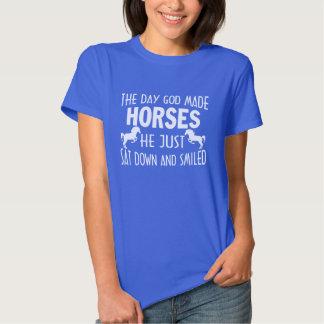 GOD MADE HORSES TEE SHIRT