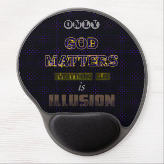 God Matters Gel Mouse Pad