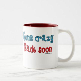 God Must Love Stupid People Two-Tone Coffee Mug