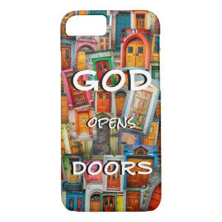 God Opens Doors Colorful Unique iPhone 8/7 Case