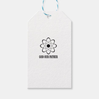 god our father of science gift tags