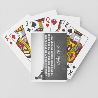 "God Quotes: John 14:6 -- ""The Way and the Truth"" Playing Cards"