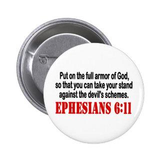 God s Armor Pin