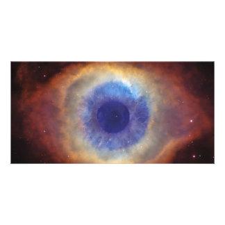 God s Eye Photo Card