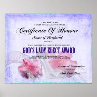 God s Lady Elect Poster