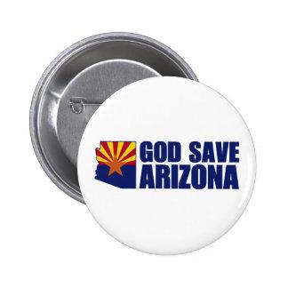 God Save Arizona Pins