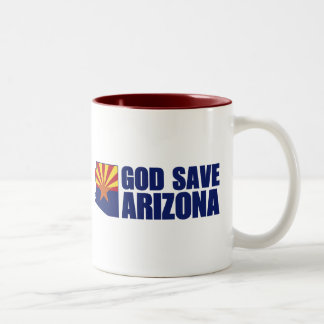 God Save Arizona Coffee Mugs