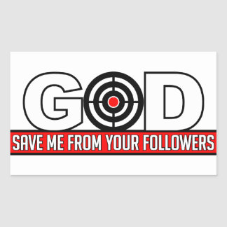 GOD SAVE ME stickers