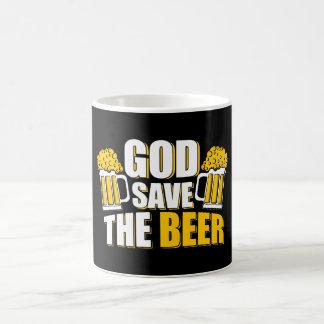 god save the beer coffee mug