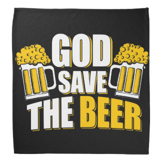 god save the beer kerchiefs