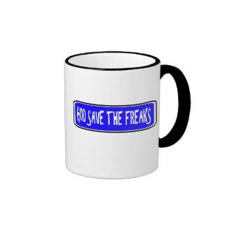 God Save The Freaks Mug