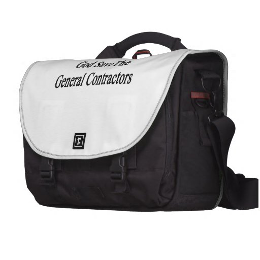 God Save The General Contractors Commuter Bag