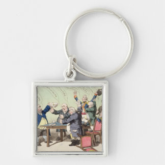 God Save the King, by a new set of performers, bei Silver-Colored Square Key Ring