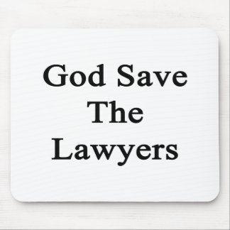 God Save The Lawyers Mouse Pads