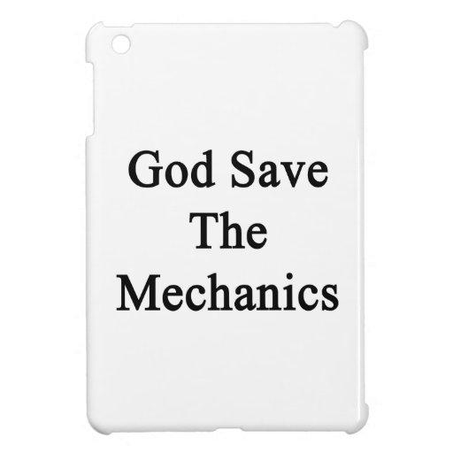God Save The Mechanics Case For The iPad Mini