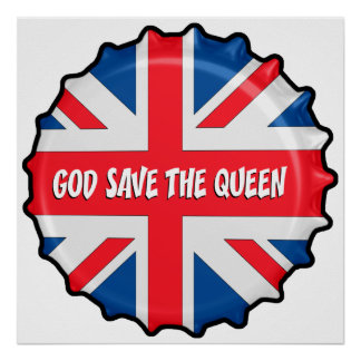 GOD SAVE THE QUEEN AFFICHES