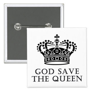 God Save The Queen Pin