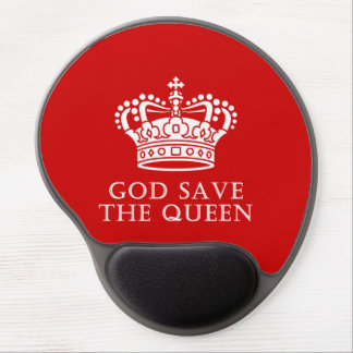 God Save The Queen Gel Mouse Pad