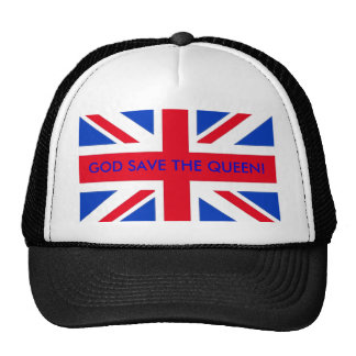 GOD SAVE THE QUEEN MESH HAT