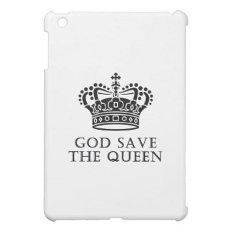 God Save The Queen iPad Mini Cases