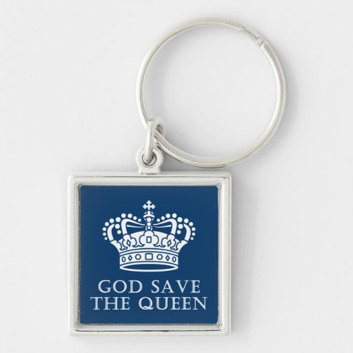 God Save The Queen Keychains
