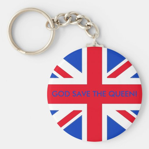 GOD SAVE THE QUEEN! KEY CHAINS