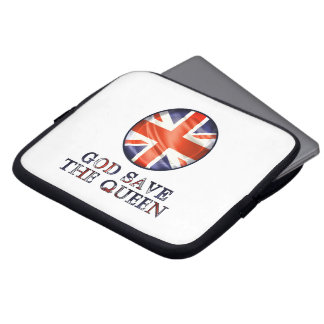 God Save The Queen Laptop Computer Sleeves