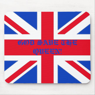 GOD SAVE THE QUEEN! MOUSE PAD