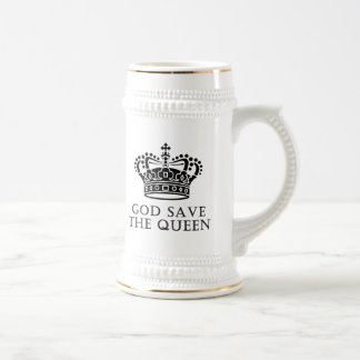 God Save The Queen Beer Steins
