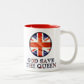 God Save The Queen Coffee Mugs
